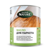 Масло для паркета компании Ultra Nature - 1 л.