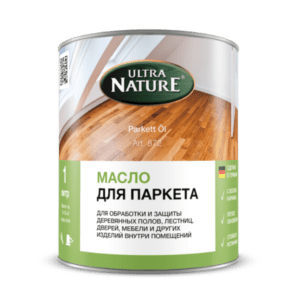 Масло для паркета компании Ultra Nature - 2,5 л.